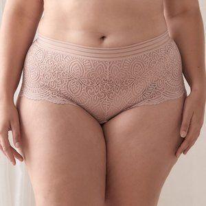 NWT Ashley Graham ace Boyshort Panties Size 2X